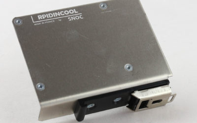 Raspberry Pi DIN rail mount with passive cooling